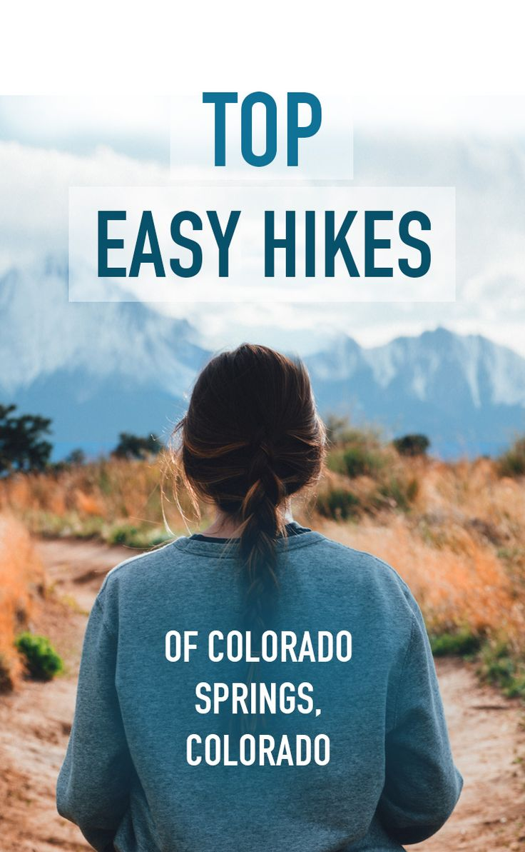 Easy hikes near Colorado Springs, Colorado