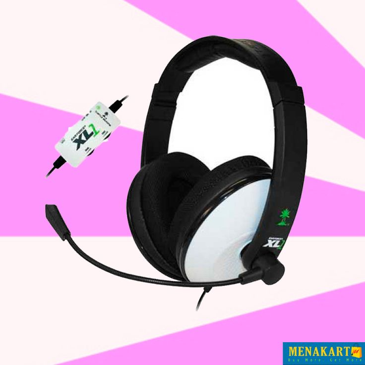 Turtle Beach Ear Force XL1 Headset and Amplified Stereo Sound. AED 159.00. #headphonesonline #headsets #earphonse #accessories #online #shopping #menakart