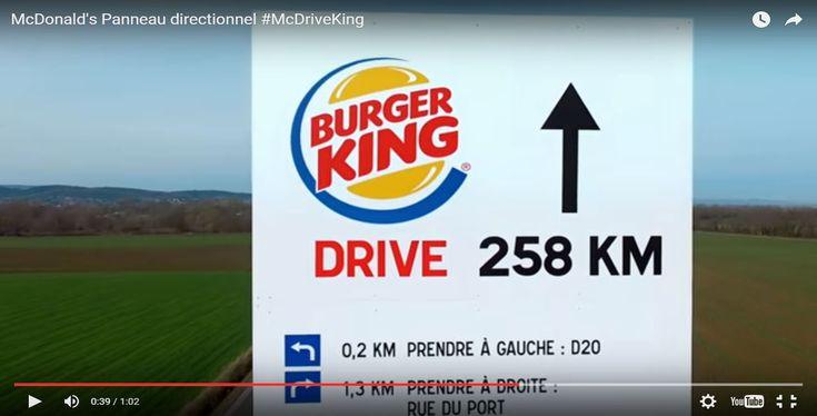 [VIDÉO] Burger King répond avec humour à la provocation de McDo France - http://www.le-lorrain.fr/blog/2016/02/29/video-burger-king-repond-avec-humour-a-la-provocation-de-mcdo-france/