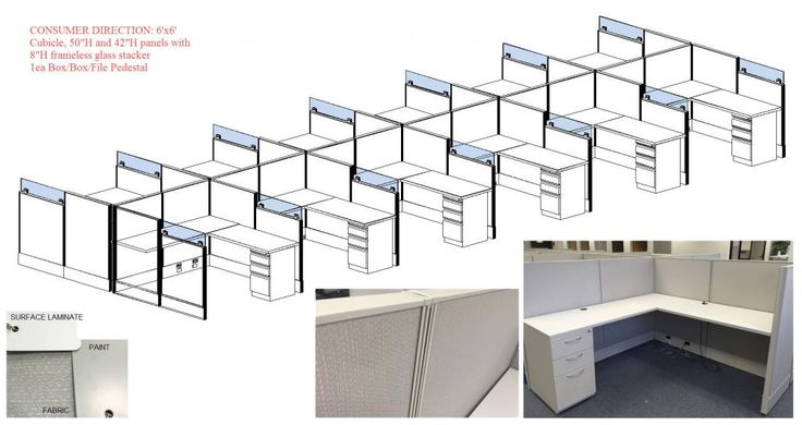31 best images about used office cubicles used cubicles