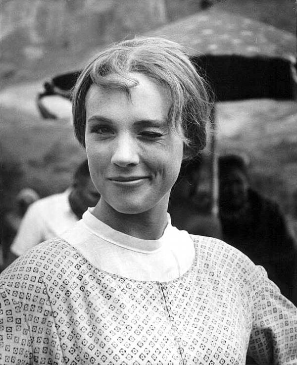 """Working with Julie Andrews is like getting hit over the head with a Valentine."" - Christopher Plummer  For you, Al."