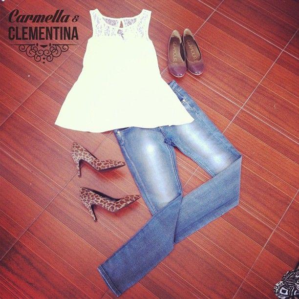 #Carmella siempre casual, siempre linda...