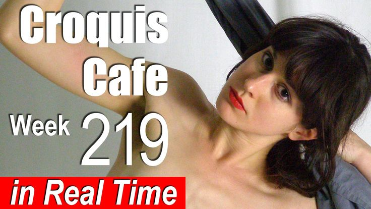 Croquis Cafe: Figure Drawing Resource No. 219