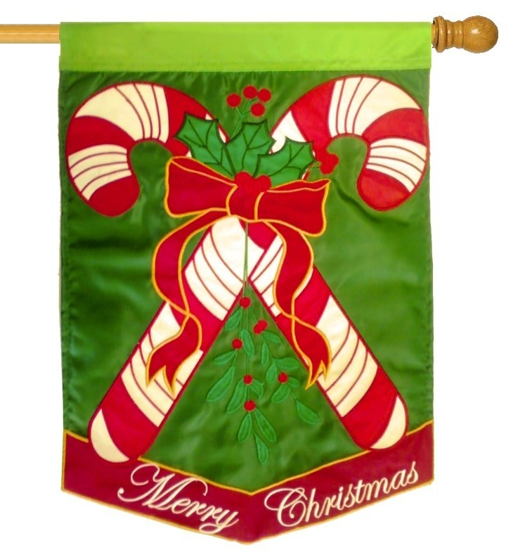 iamericas flags candy canes double lique house flag 32 00
