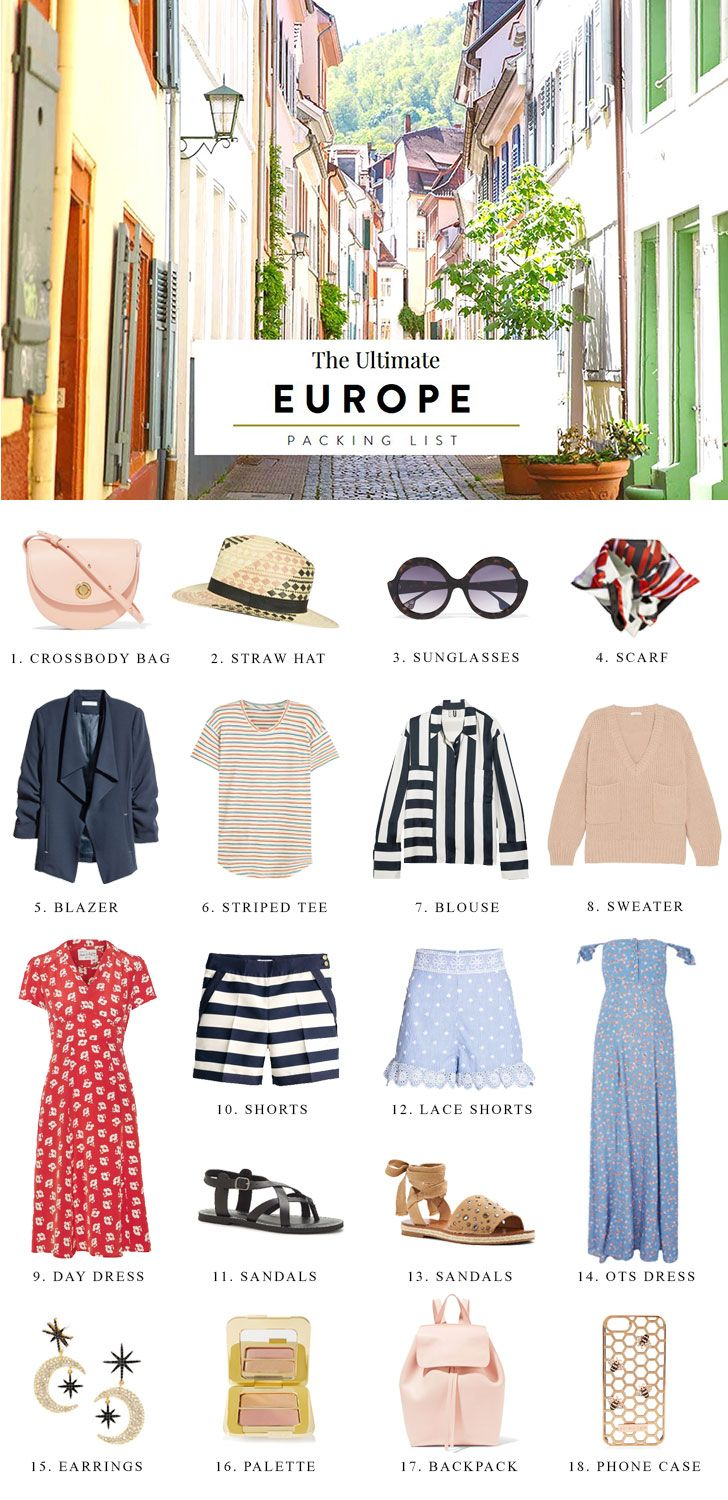europe packing list, europe packing list summer, europe packing list spring, study abroad, carry on, checklist, 2 weeks, international trip, pack light, outfit inspiration, summer vacation, vacation outfits, style, fashion, backpack, off the shoulder dresses