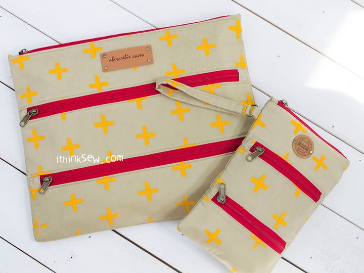 1073 Stacey Pouches PDF Pattern