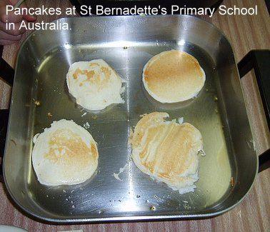 Pancake Day (Madi Gras ) around the World