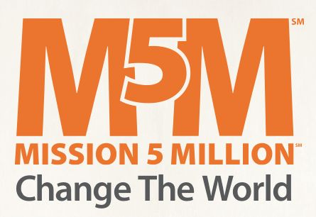 The Mission 5 Million movement represents Mannatech's mission to link five million consumers of its glyconutrient, food-based nutritional supplements with five million children in need.  http://au.mannatech.com/real-passion/mission-5-million/