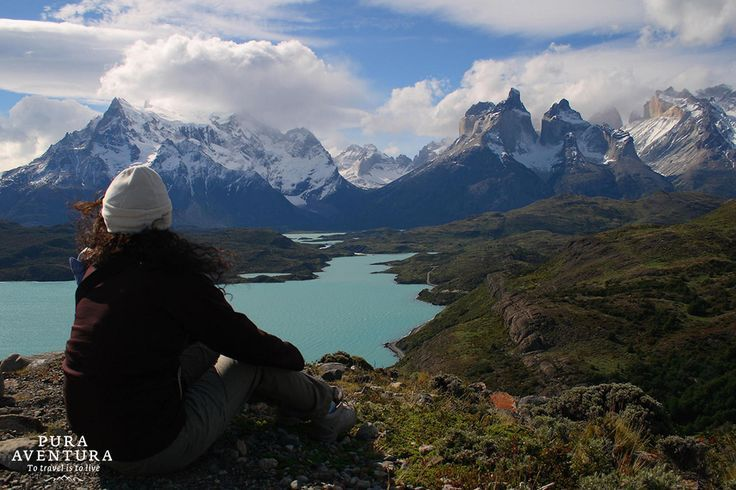 Amazing view of Torres del Paine, Chilean Patagonia