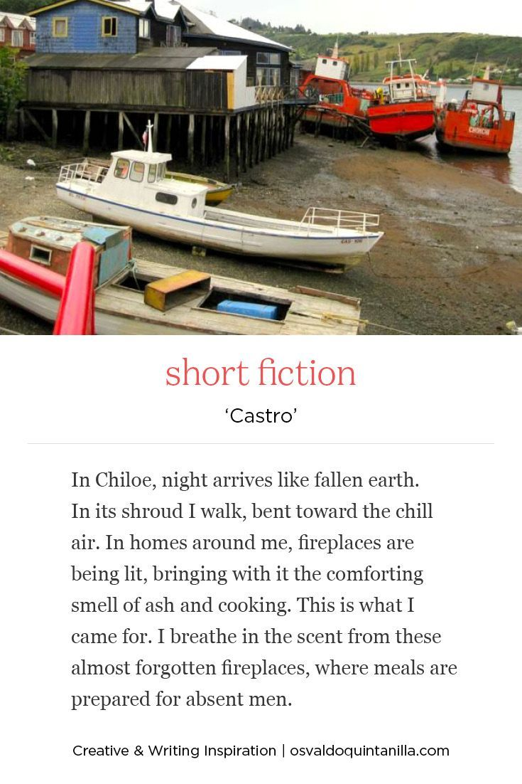 'Castro' - short fiction piece inspired by the island of Chiloé on Chilean south coast