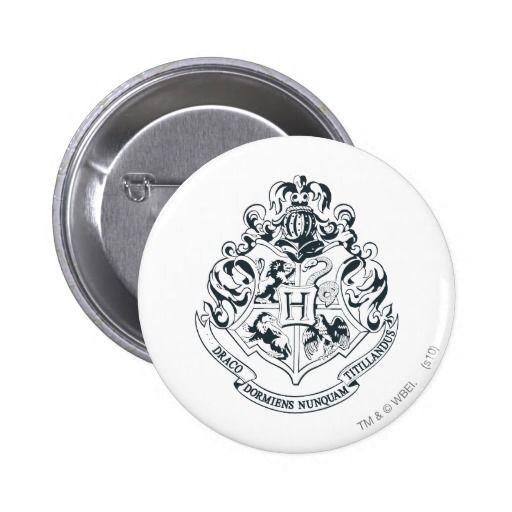 Hogwarts Crest 6 Cm Round Badge