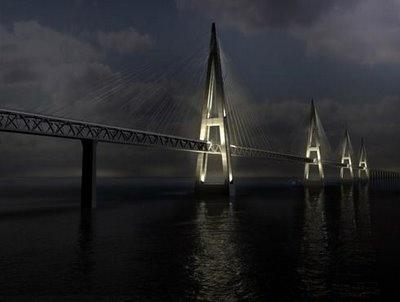 Fehmarn Belt Bridge, Baltic Sea