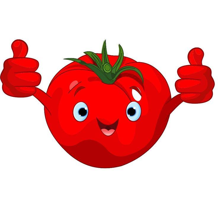 Картинка веселый помидор для детей, написать открытке посткроссинг