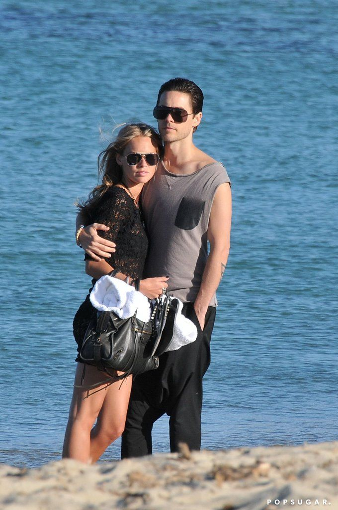 Katharina Damm and Jared Leto.