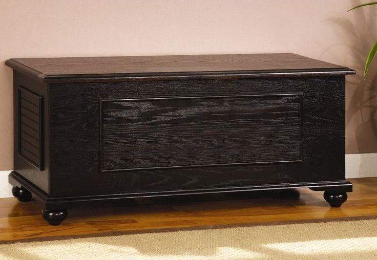 Coaster Company, black cedar chest