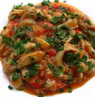 Ciuperci cu legume, Rețetă Petitchef