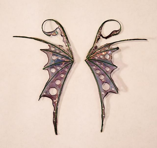 these are just cool, and i bet you could make them from wire and glue with food coloring in it...