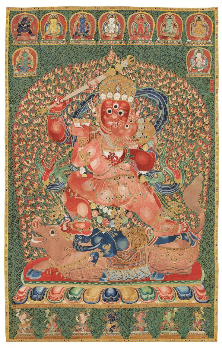 The thangka Liu Yiqian bought for a record $ 45 million ( Source: Christie's)