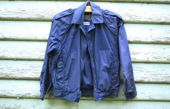 90s Christian Dior Vintage Navy Jacket by GamineRagVintage on Etsy