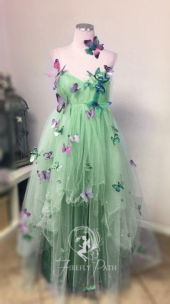 Butterfly Garden Gown von Firefly-Path #butterfly #firefly #garden