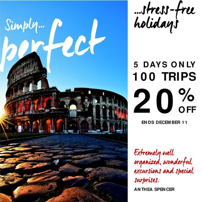 Save up to $4,158.00 per couple.  book by December 11.