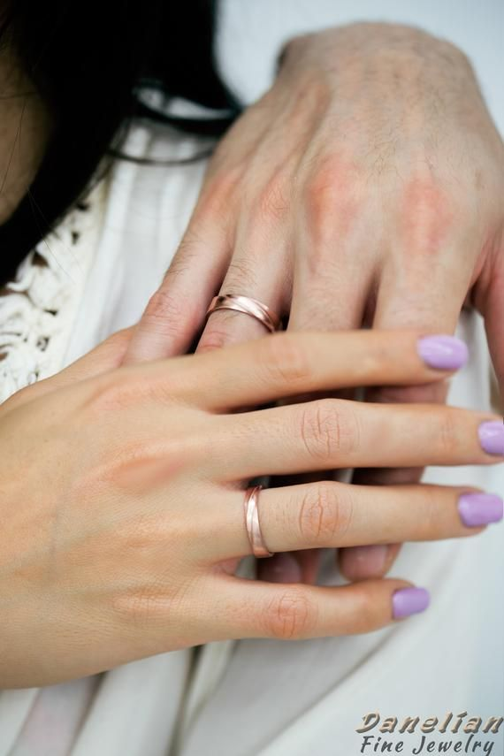 Wedding Ring Set Wedding Band His And Her Couple Wedding Etsy Wedding Ring Sets Couples Wedding Bands Wedding Rings