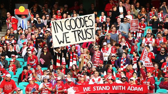 Australian footballer Adam Goodes finally speaks out over racist booing