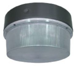"""HiLumz 100W 9500lm 15"""" Round LED Garage Canopy - LED Parking Garage Canopy Fixtures – Designed as energy efficient lighting solutions that features uncompromising safety & security in parking garages, LED canopy lights replaces high watt metal halides fixtures. For more information visit at http://usa-leds.com/led-canopy/"""