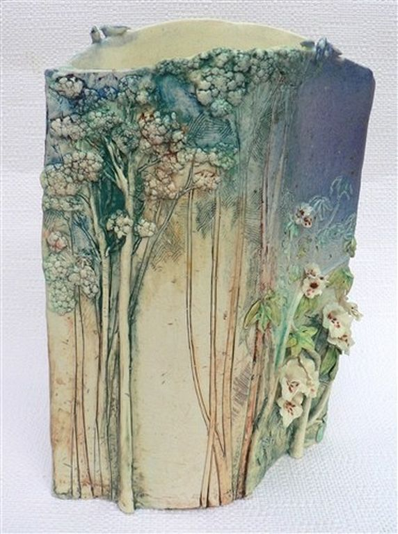 Slab Vase Ceramic (1)