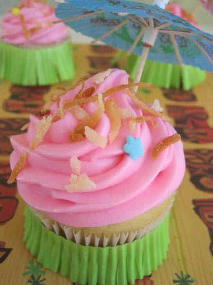 Anna's Pineapple Coconut Cupcakes