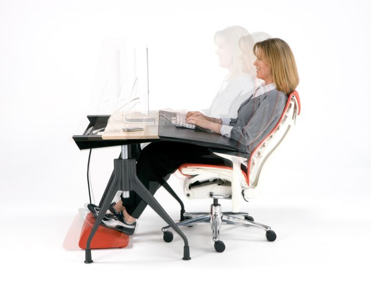 83 best computer desk images on pinterest computer desks for Office design ergonomics