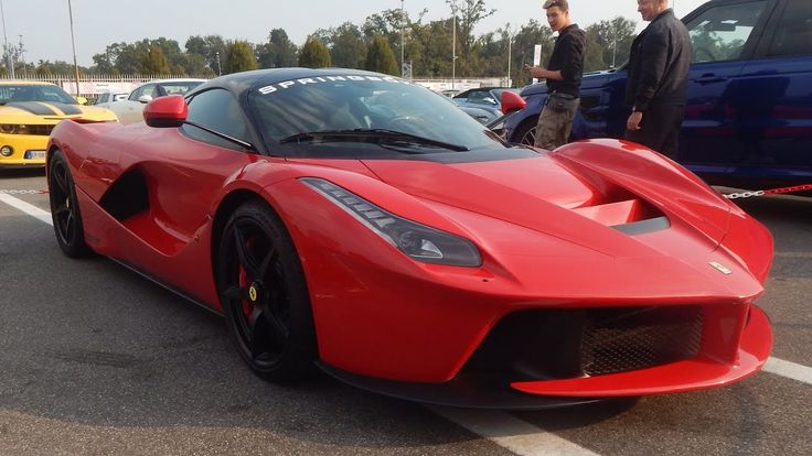 Ferrari LAFERRARI at Top Gear Cup 2016 in Monza! Incredible beauty!