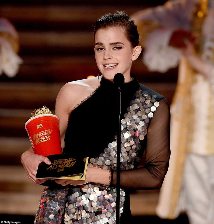 Emma Watson wins first 'gender free' Best Actor in a Movie category at MTV Movie & TV Awards in Los Angeles on Sunday night. Watson won for her performance as Belle in Beauty And The Beast and she praised MTV for moving towards a gender-less awards show.   #'gender free #Australian label #Australian label KITX #Belle in Beauty #emma watson #fashion dress #first MTV Movie Award #gender-less awards show #hollywood #Hollywood International Moving Pictures Film Festival #KITX #Lo