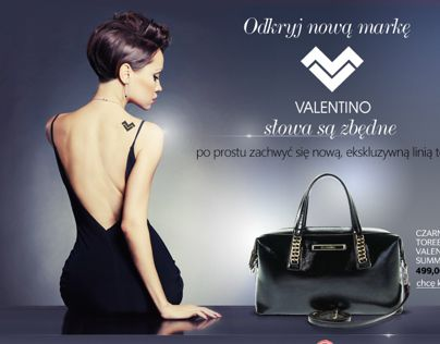 "Check out new work on my @Behance portfolio: ""New brand on Riccardo.pl - Valentino - e-mailing"" http://on.be.net/1thiH0R"
