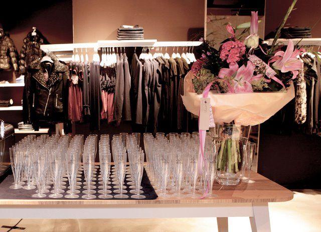 Opening Fornarina Store September 22, 2011