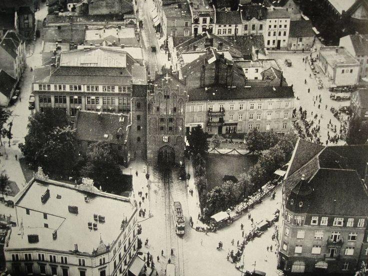 Allenstein-Olsztyn (Ostpreußen/Prusy Wschodnie- Ermland/Warmia) vor. 1945