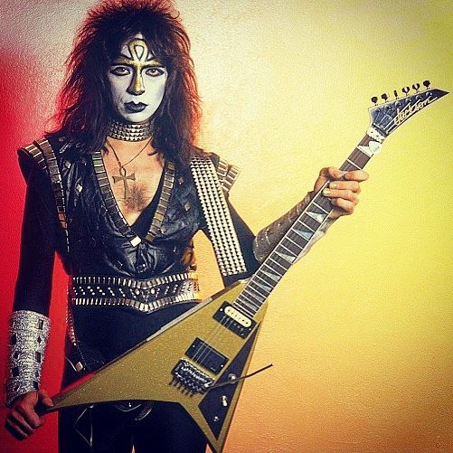 Happy Birthday #VinnieVincent - 10th Anniversary/Creatures of the Night Tour. Municipal Auditorium. Kansas City, Missouri. 1 March #1983 /source credit: The God Of Thunder #KISS #KISSarmy #KISSband #KISSrock #KISStory #KISSworld #KISSnation #KISSonline