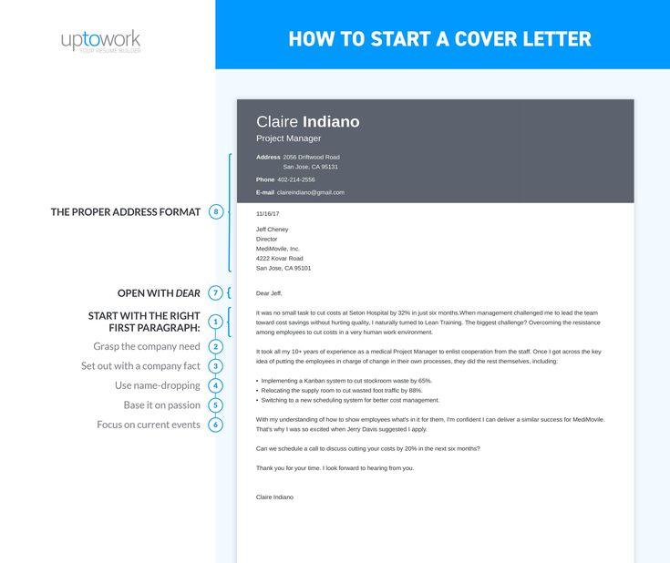 Cover Letter Introduction Sentence: 10 Best Career Training Images On Pinterest