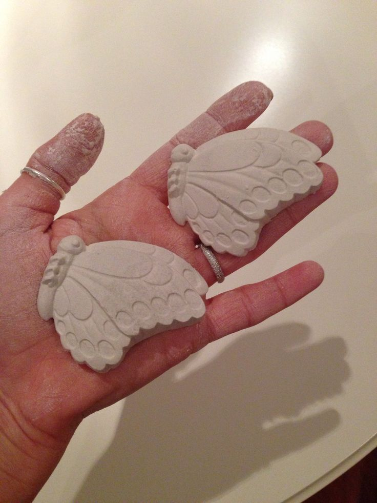 ..work in progress..   - gessi profumati https://tiramiblu.wordpress.com/2013/11/11/farfalle-pronte-a-prendere-il-volo/