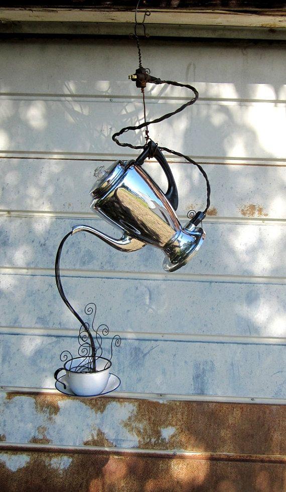 coffee pot sculpture