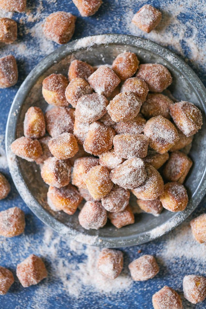 Cinnamon Sugar Pretzel Bites - The absolute quickest and easiest way to make homemade pretzel bites! No rising or kneading here! And it is the best when served warm. You cannot beat that!