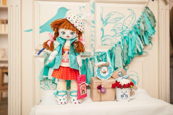 K1006 Birthday Girl. Doll sewing kit KUKLA NOVA #nova_sloboda #sewing #handmade #doll #toy #kukla_nova