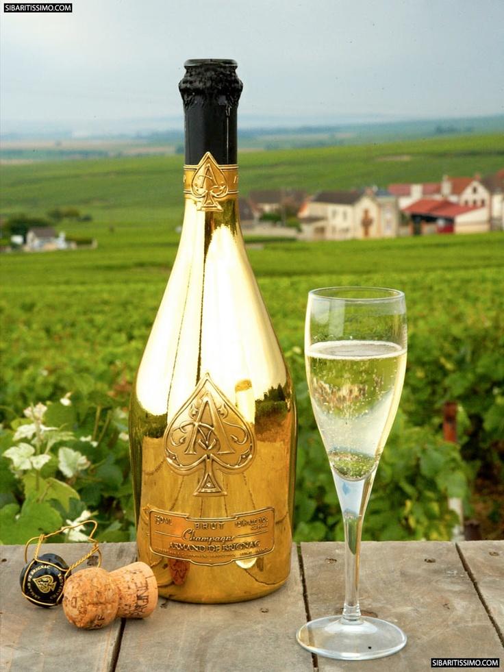 Armand de Brignac Brut Gold, ¿el mejor champagne del mundo?        #lujo #champagnes #armanddebrignac