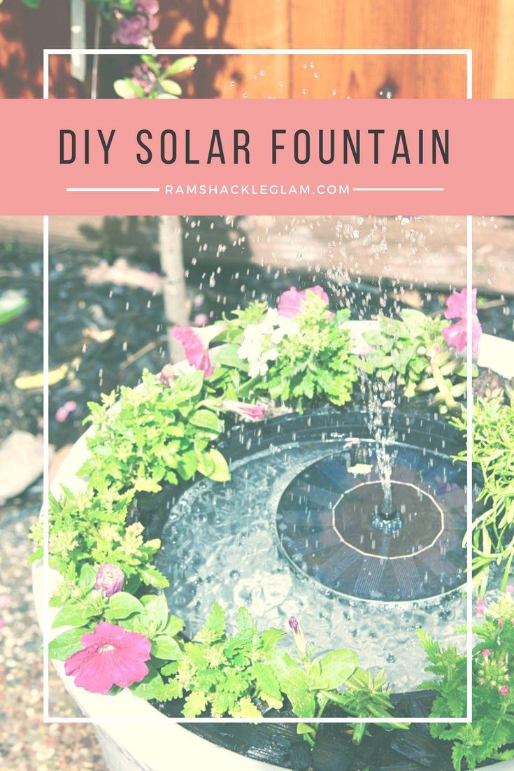 How To Make Your Own Backyard Solar Water Fountain Diy 400 x 300