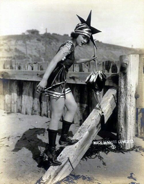 Mack Sennett Bathing Beauty...this was considered risqué? Really? LOL