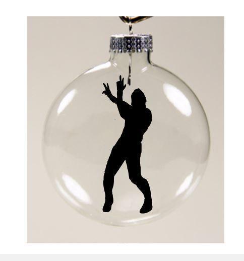Shinsuke Nakamura WWE Wrestling Wrestler Christmas Ornament Glass Disc Holiday #Handmade