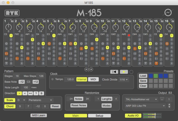 M-185 Sequencer