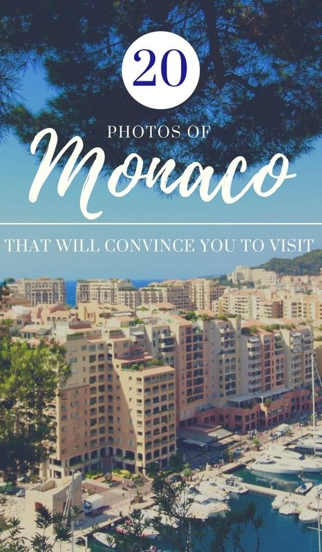 Monaco is the 2nd smallest country in the world, but is full of beautiful places and historical sites. Here are 20 photos that will convince you to visit. See photos and more at daniellefarideh.com
