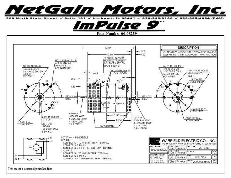 194 best images about car restoration on pinterest cars for Impulse 9 electric motor