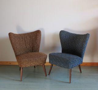 2 Cocktailsessel 50er 60er Jahre Clubsessel Sessel Bild Sitzgelegenheiten Haus Deko Wohnen